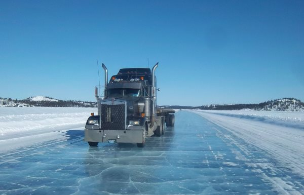 Ice road trucking e-book preview 2. My truck for the season was a 2001 Kenworth w900