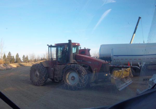 Oilfield Photos. Oilfield tow tractor