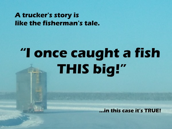 Ice Road Trucking e-book preview 12. Oversized loads on the ice roads.