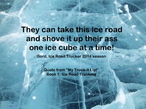Ice Road Trucking e-book preview 3. Some people just didn't like the changes and new rules.