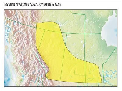 oilfield trucking, Western sedimentary basin