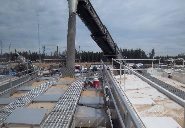 Permalink to:Frac Sand Unloading