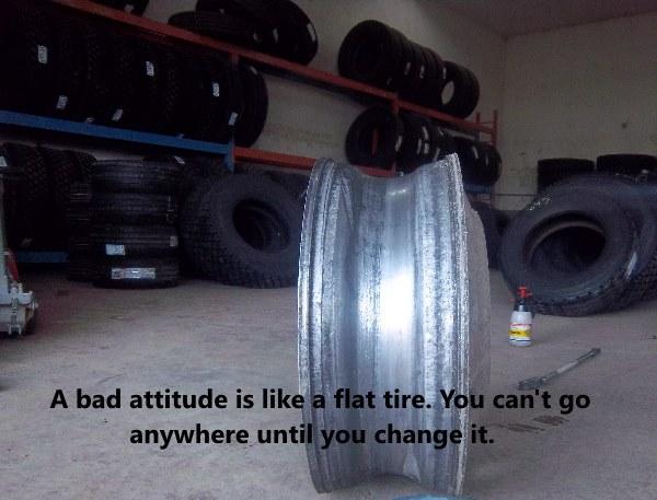 Truck Driver Attitude