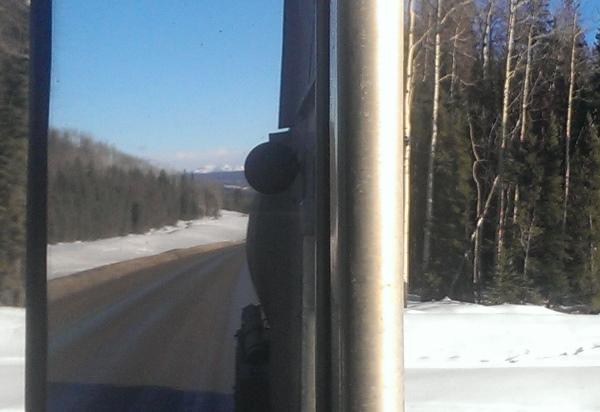 Oilfield Photos, Buckinghorse Road off the Alaskan highway