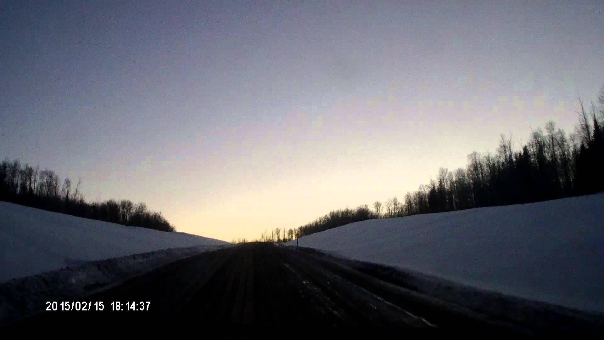 Truck driving videos. Steep, muddy, oilfield hill