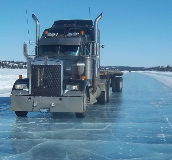 Ice Road Drivers. 2001 Kenworth W900