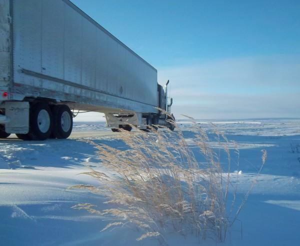 Ice Road Loads. Dry van ice road loads.