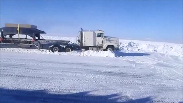Ice road drivers. Fatigue