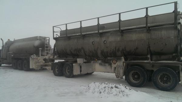 Frac hauling