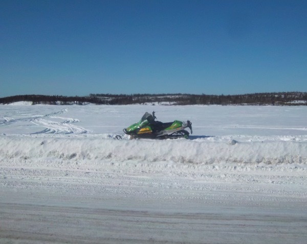 Tibbett Contwoyto Winter Road also had recreational users and local residents.