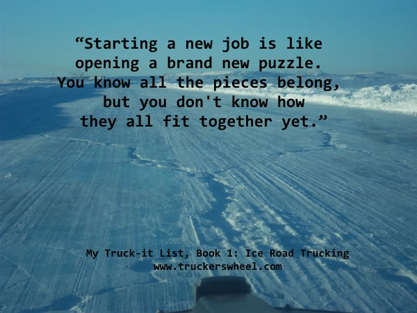 Quotes from the ice roads